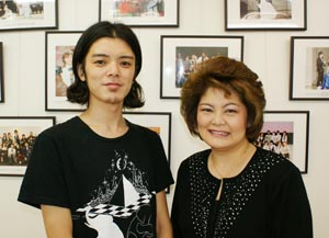 "title=""森永さんとジェーン校長先生""alt=""森永さんとジェーン校長先生"""